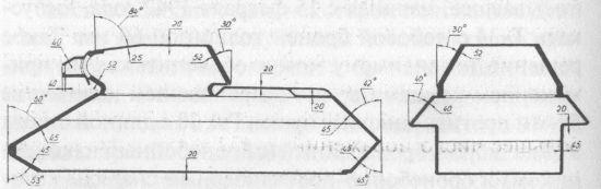 Схема бронирования танка Т-34
