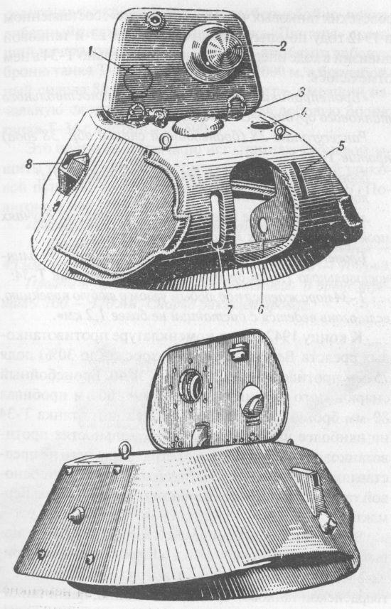 Общий вид сварной башни танка Т-34 выпуска 1940-1941 годов