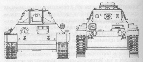 Сравнительные размеры Т-34 и PzIIIF