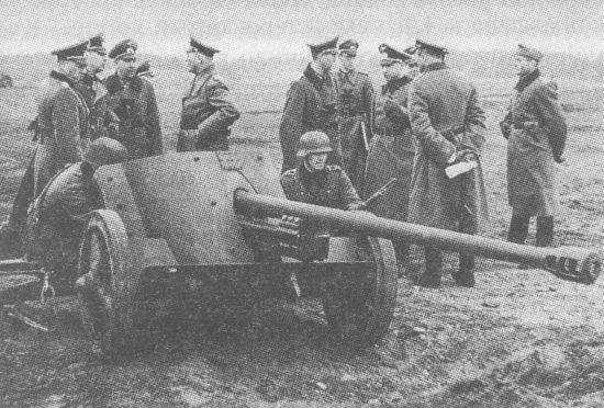 50-мм противотанковая пушка Pak 38 в конце 1941 – первой половине 1942 года была основным средством борьбы с танками
