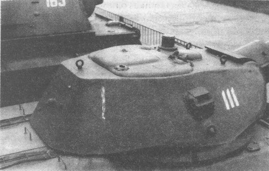 Литая башня Т-34 выпуска 1942 года. Кормовой люк для демонтажа пушки крепился на 6 болтах