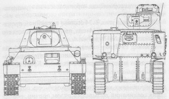 265 Сравнительные размеры танков Т-34 и М3с