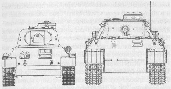 Сравнительные размеры танков Т-34 и «Пантера»