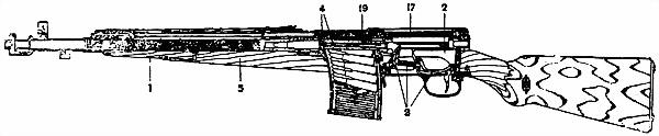 ГЛАВА I НАЗНАЧЕНИЕ И БОЕВЫЕ СВОЙСТВА 7,62-мм АВТОМАТИЧЕСКОГО КАРАБИНА ТОКАРЕВА