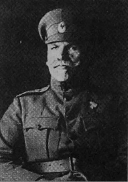 Руководитель балканского отдела РОВС генерал-лейтенант Ф.Ф. Абрамов