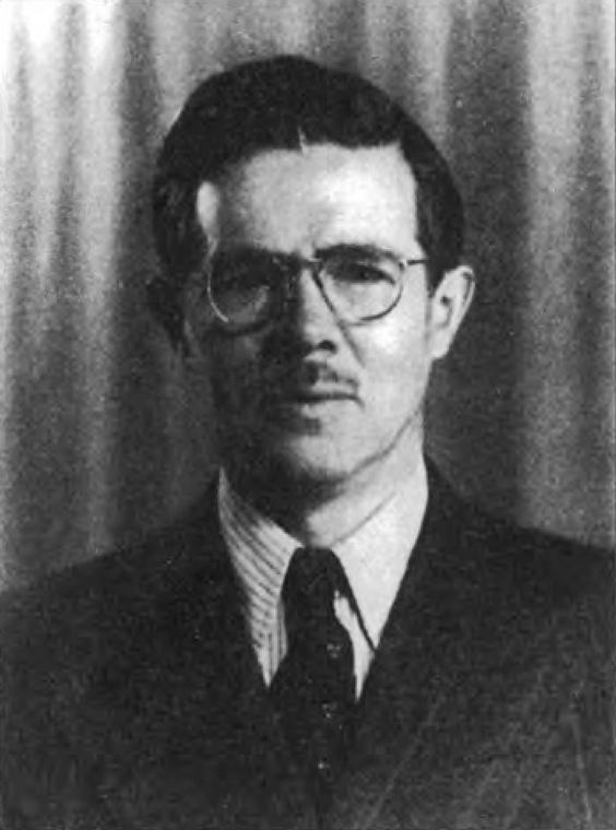 Руководитель нелегальной резидентуры в США «Юнг» (И.А. Ахмеров). 1942 г.