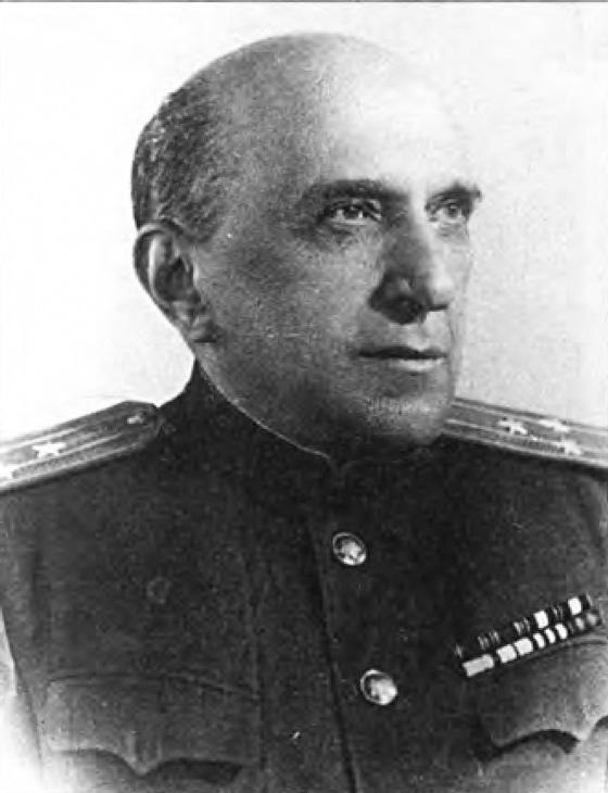 Полковник Я.И. Серебрянский. Москва, 1946 г.