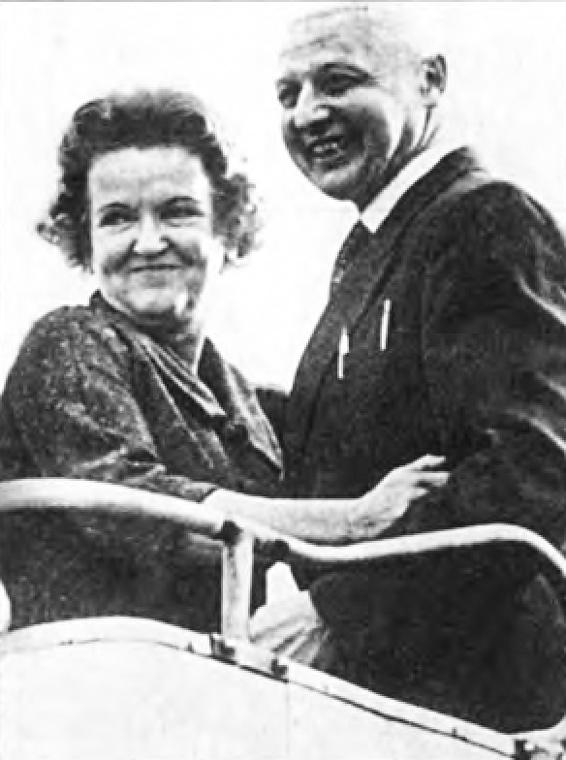 Моррис и Леонтина Коэны. Возвращение в Москву. Октябрь 1969 г.