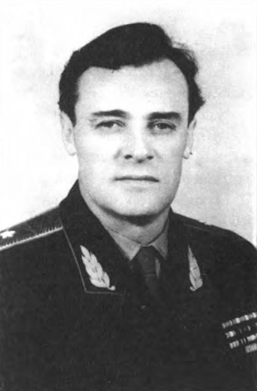Генерал А.М. Коротков. Москва, 1960 г.