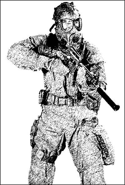 Состав и оснащение группы спецназа