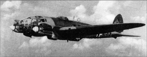 He 111P-2, 25+Е3, из III./KG 255, весна 1939 г.