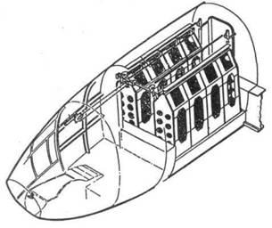бомбоотсек с восемью бомбодержателями ESAC