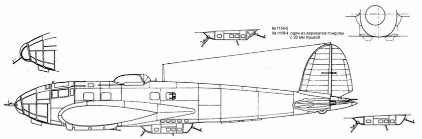 Не 111Н-6 Rustsatz С – торпедоносец