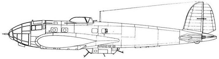 Не 111Н-11 с пилоном РУС