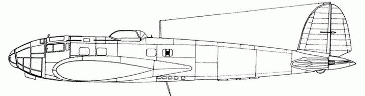 Не 111Н-12/Н-15. Обе модификации отличались только пилонами.