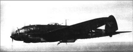 He 111H-5 из KG 53, лето 1941 г.
