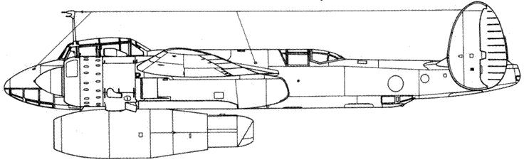 Ty-2ЛЛ — летающая лаборатория для испытания реактивных двигателей