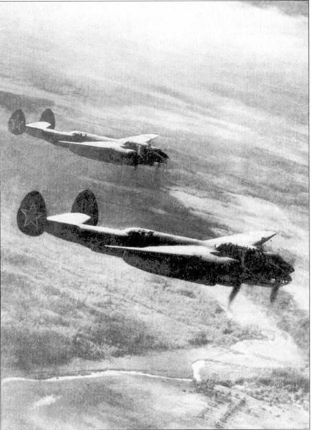 Бомбардировщики Ту-2 начали массово применять в 1944 году.