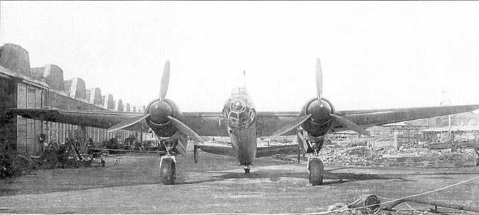 Образец самолета «103ВС» на территории завода №166, Омск, весна 1942 года.