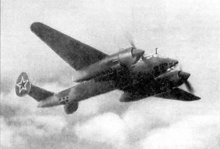 Ту-2 в полете.