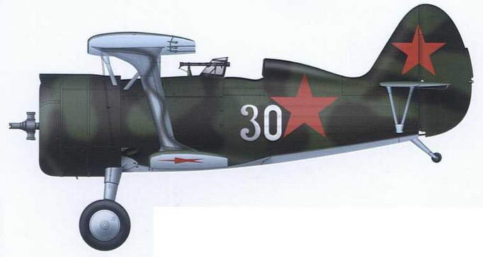 И-15бис из состава 71-го иап ВВС КБФ