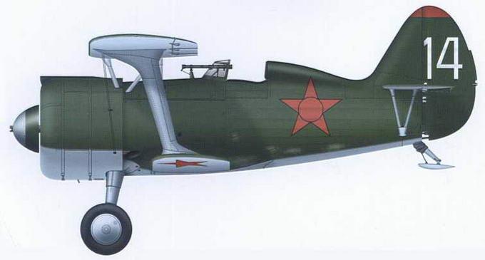 И-15бис 71-го иап ВВС КБФ, 1941 г.