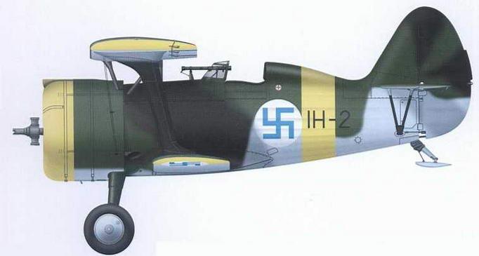 И-15бис (IH-2) эксплуатировался в ВВС Финляндии до 1945 г.