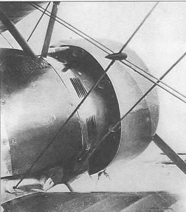 И-15бис №3392 отличался узким капотом по типу кольца Тауненда и индивидуальными выхлопными патрубками