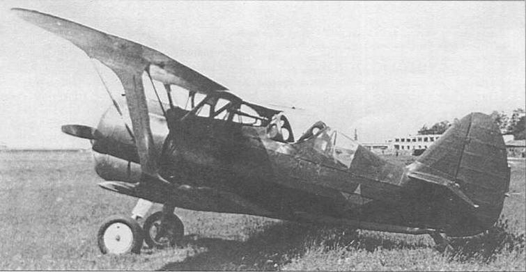 И-15бис ГК, заводской №3710, с открытым колпаком гермокабины