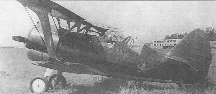 И-15бис ГК, заводской №3710, с закрытой гермокабиной