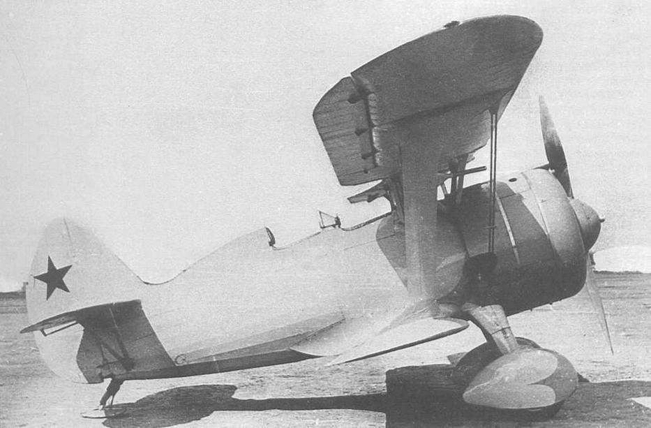 ДИТ (ДИТ-2), заводской №5337, в ходе испытаний летом 1939 г. Окраска передней части самолета, скорее всего, голубого цвета