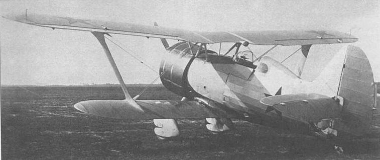 Первый опытный И-15бис, заводской №3354, начал испытываться летом 1937 г. Отличался увеличенным козырьком кабины с установленным прицелом ПАК-1, небольшими окнами за головой пилота, установкой радиостанции РСИ и колесом-роликом на костыле (МЖ)