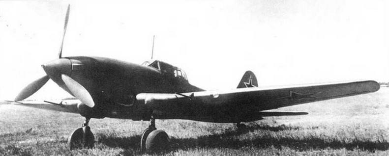 Штурмовик Ил-10.