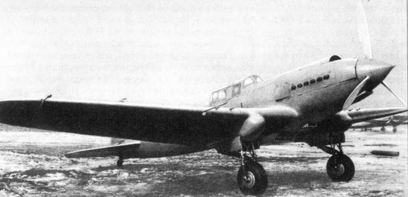 Бронированный штурмовик ЦКБ-55