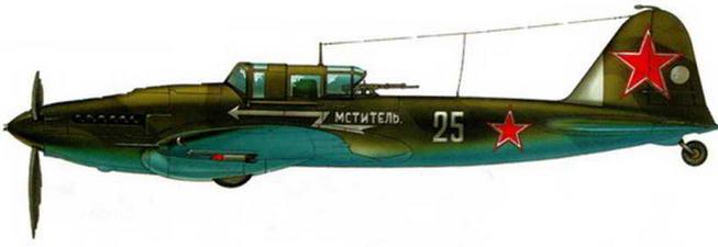 Серийный двухместный штурмовик Ил-2. Ленинградский фронт. Прибалтика. 1944 г.