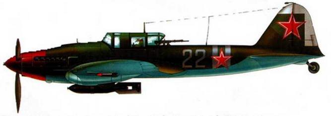 Двухместны штурмовик Ил-2 Героя Советского Союза летчика Г.Т. Берегового.