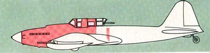 Серийный Ил-2 с пушками НС-37.