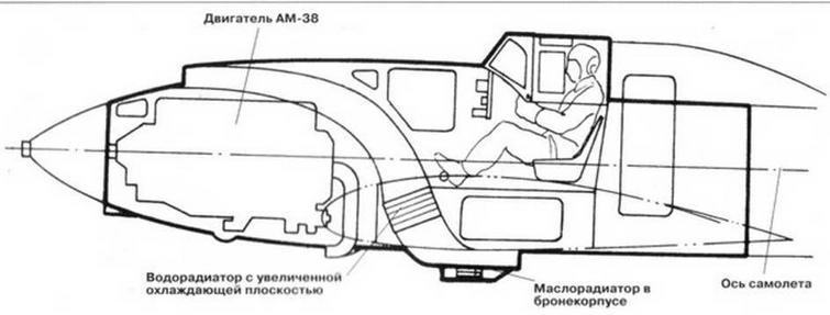 Компоновка бронекорпуса ЦКБ-57