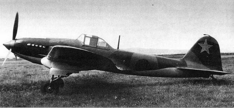 Бронированный штурмовик ЦКБ-55П (Ил-2). ЛИИ 1941 г.