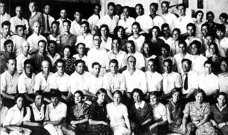 Опытное конструкторское бюро С.В.Ильюшина. Москва 1938 г.