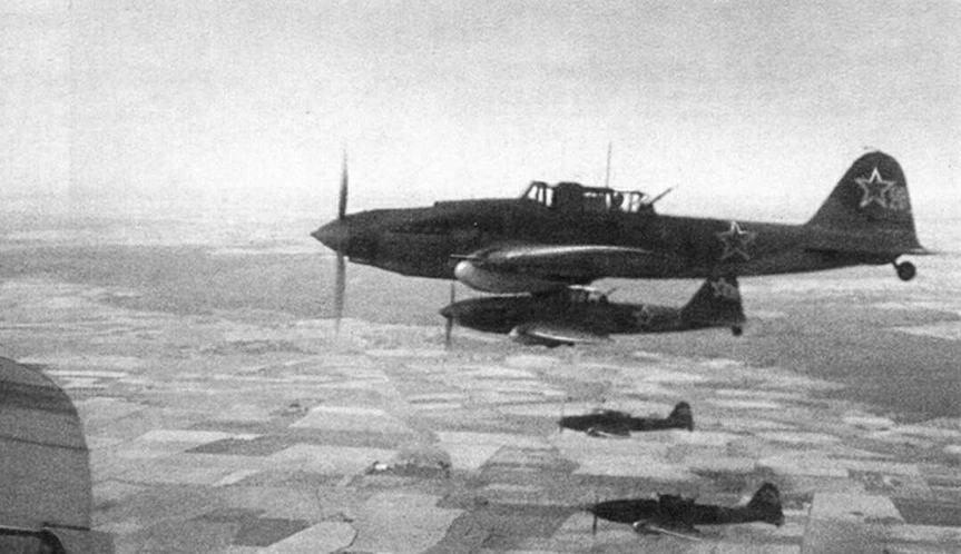 В боевом полете. 1944 г.