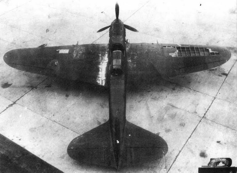Ил-2 после испытаний на срыв обшивки. НИИ ВВС.