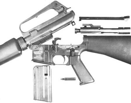 Автомат (штурмовая винтовка) Armalite / Colt AR-15 / M16