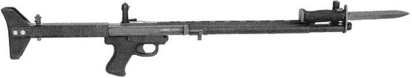 Автомат (штурмовая винтовка) TRW LMR — Low Maintenance Rifle