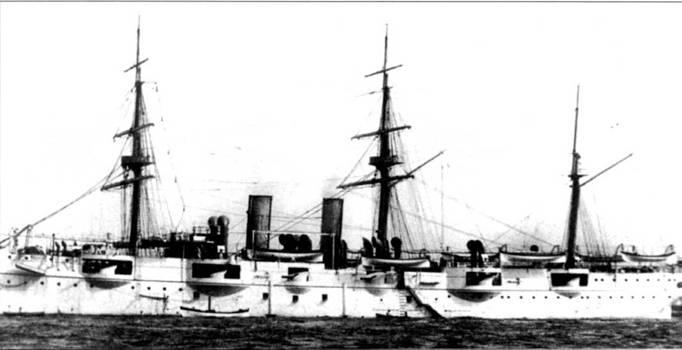 «Ньюарк» — первый корабль ВМС США, официально классифицированный как крейсер — С-I. «Ньюарк» построил Крамп с Сыновьями на своем заводе в Филадельфии. Старик Крамп заложил первый американский крейсер 19 марта 1890г. При водоизмещении в 3704 метрических тонны «Ньюарк» был вооружен 12 6-дюймовыми пушками и обладал бронепалубой толщиной в три дюйма.