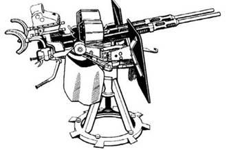 20-мм спаренная пушка