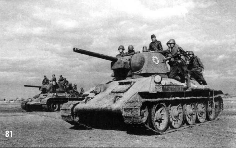 Бои на окраинах Сталинграда. Неизвестная танковая часть. Октябрь 1942 г.
