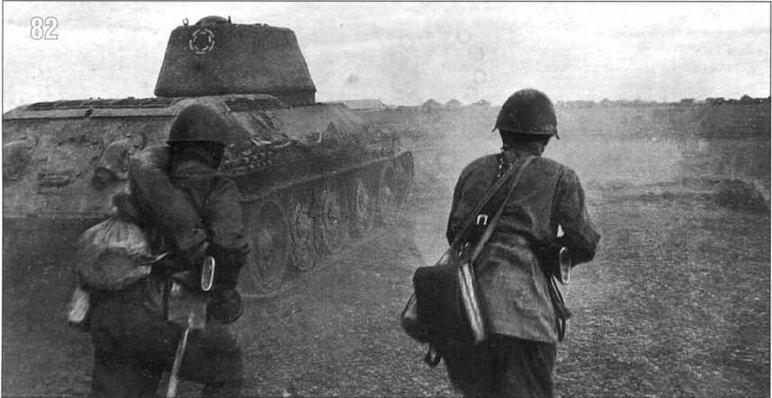 Бои на окраинах Сталинграда ведет часть майора Малышева. Октябрь 1942 г.