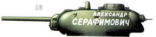 КВ-1с из состава танковой колонны «Александр Серафимович» 1942 г.