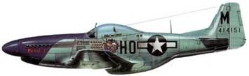 P-51D-10-NA (44-14151. НО*М. «Petie 2nd»). 352nd FG. 487th FS. 8th AF. Пи- <emphasis>(
